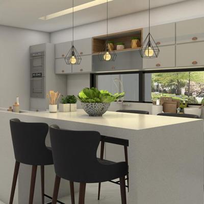 Projeto de interiores residencial – Cozinha