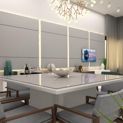 Projeto de interiores residencial – Sala
