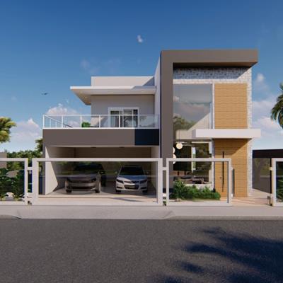 Projeto Arquitetônico – Residência M & D