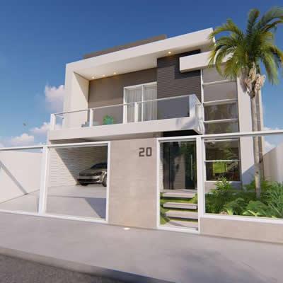 Projeto Arquitetônico – Residência R & G